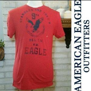 American Eagle Graphic Tee Short Sleeve Shirt M